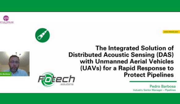 The Integrated Solution of Distributed Acoustic Sensing (DAS) with Unmanned Aerial Vehicles (UAVs) for a Rapid Response to Protect Pipelines